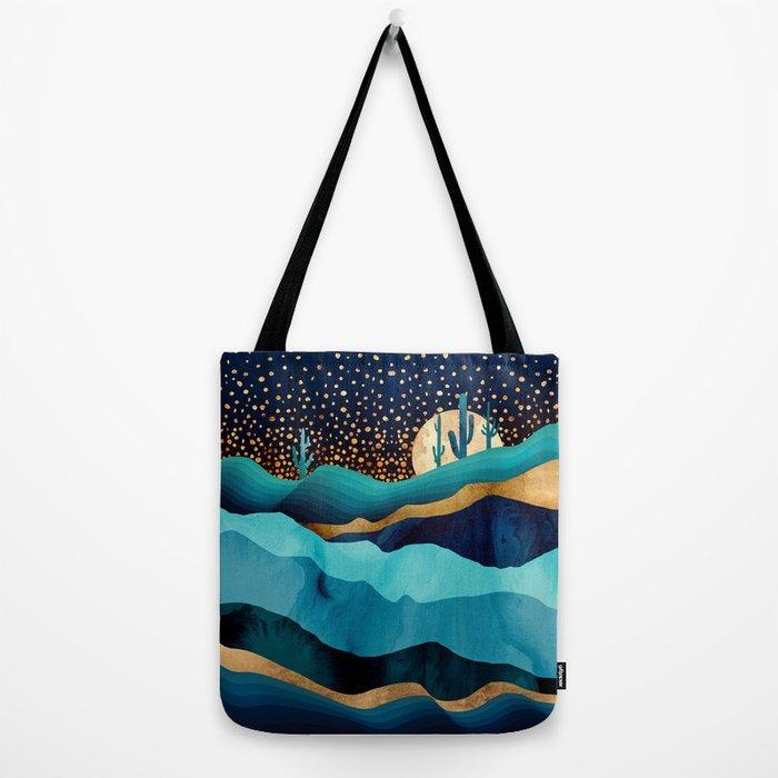 Indigo Desert Night Tote Bag