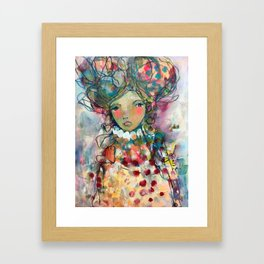 Beauty In Stillness Framed Art Print