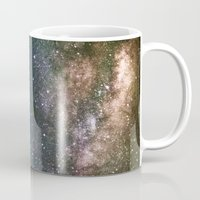 milky way Mugs featuring Milky Way by Laura Stanford