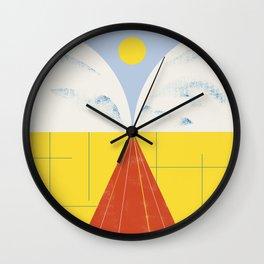 SUMMER QUEST Wall Clock