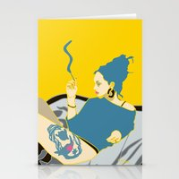smoking Stationery Cards featuring Smoking by YTRKMR