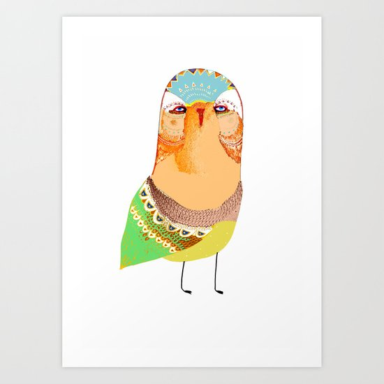 The Rarest Owl Art Print