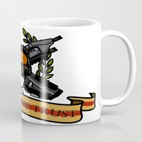master chief Mugs featuring Master Chief by Toby Court