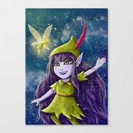 Lulu Neverland Canvas Print