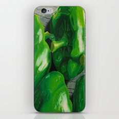 Green Peppers iPhone & iPod Skin