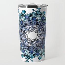 Indigo Bloom Portuguese Tiles – Porto Travel Mug