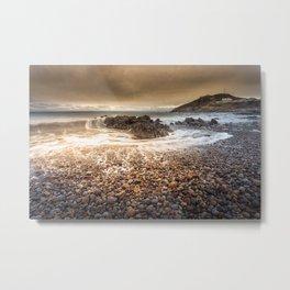 Bracelet Bay Storm cloud Metal Print