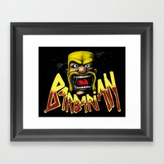 Barbarian Framed Art Print