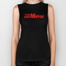 The Bay Miror Logo Biker Tank
