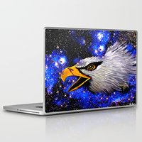 eagle Laptop & iPad Skins featuring Eagle by Saundra Myles
