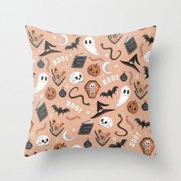 Spooktacular Throw Pillow