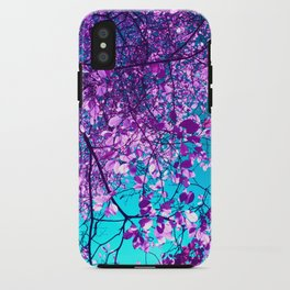 purple tree XXIX iPhone Case