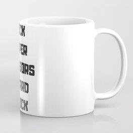 Rock Paper Scissors Lizard Spock Coffee Mug