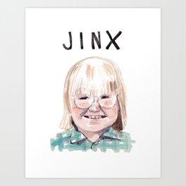 Cousin Oliver - Jinx Art Print