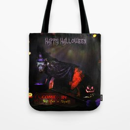 Double, double toil and trouble Tote Bag
