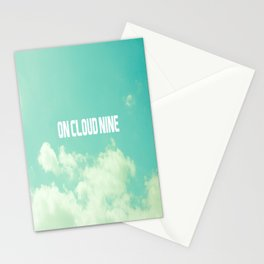 On Cloud Nine  Stationery Cards