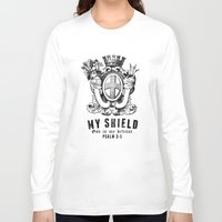 agents of shield Long Sleeve T-shirts featuring Shield by J Evan