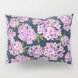 Alyssum - Navy & Pink Pillow Sham