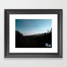 Outfield Framed Art Print