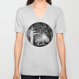 rest in expectation Unisex V-Neck