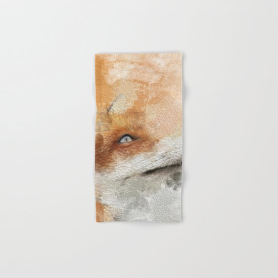 The Fox Hand & Bath Towel