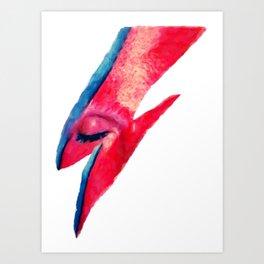 Bowie StarDust Art Print