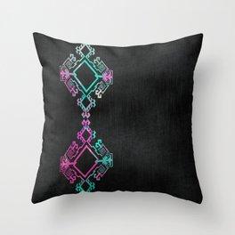 Diamondback Throw Pillow