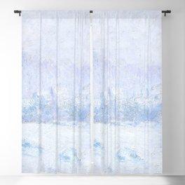 """Claude Monet """"Effet de neige à Giverny"""" Blackout Curtain"""