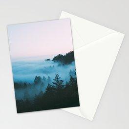 Foggy Marin Sunset Stationery Cards