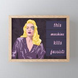 This Seven Kills Fascists Framed Mini Art Print