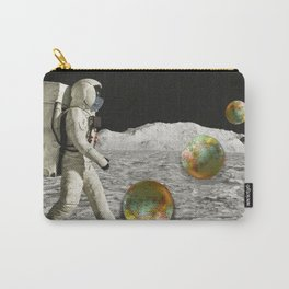 Moon Shot #collage Carry-All Pouch