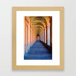 Portici di Bologna Framed Art Print