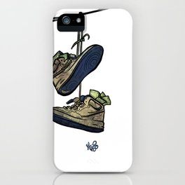"""Livin' For The City - """"Just For Kicks"""" iPhone Case"""