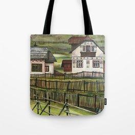 Transylvanian Landscape Tote Bag
