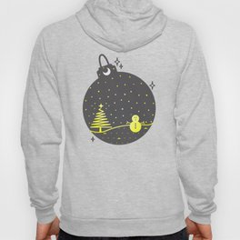 Christmas inside a sphere Hoody