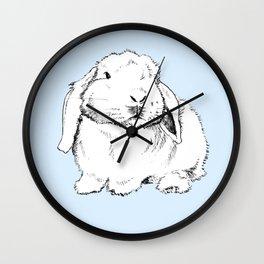 My Friend Paopao Bunny Illustration Wall Clock