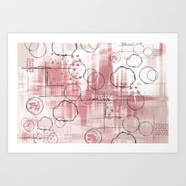 Powerball Art Print