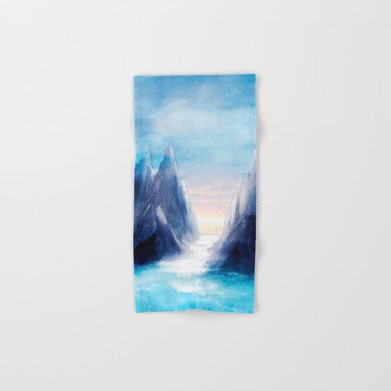 Over The Mountains III Hand & Bath Towel