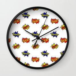 Fuck!  Wall Clock