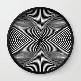 3D Geometries Wall Clock