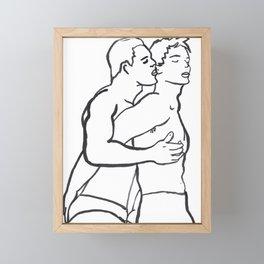 We Two Framed Mini Art Print