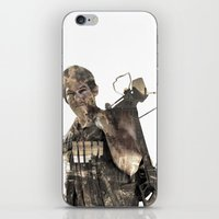 daryl iPhone & iPod Skins featuring Daryl TWD by Yousef
