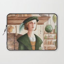 Hertha ~ A Compendium Of Witches Laptop Sleeve