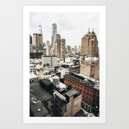Midtown NYC Art Print