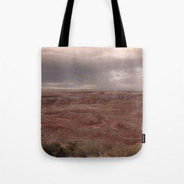 Desert Rain Clouds Tote Bag