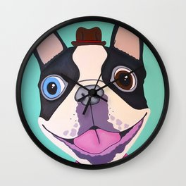 Buster The Dog Wall Clock