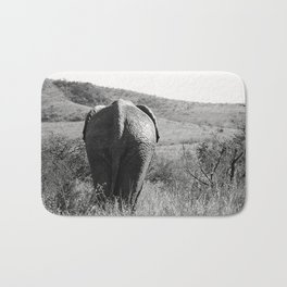 Elephant in Africa Bath Mat