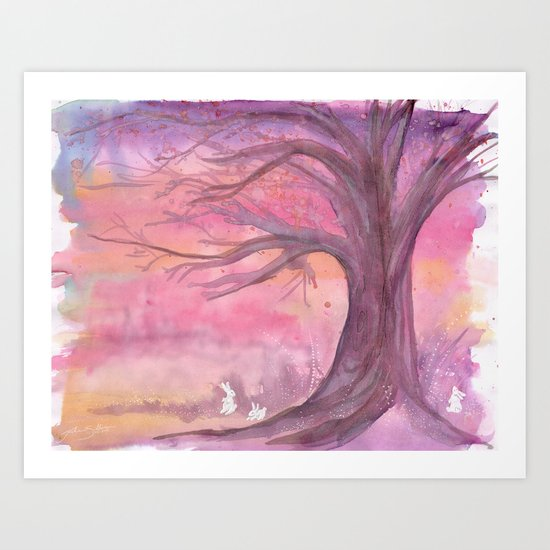Early Spring Hour Art Print