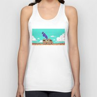 lab Tank Tops featuring Lab by Mikhail Kalinin