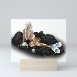Dangerous Mermaid Mini Art Print